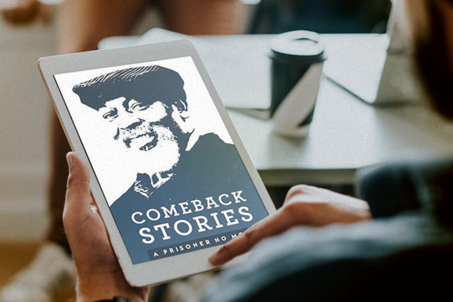 Grace staff and volunteers partnered with JUMPSTART to produce Comeback Stories: A Prisoner No More. This devotional tells the stories of how God transformed the lives of 30 men and women through the redemptive power of the gospel while they were incarcerated.